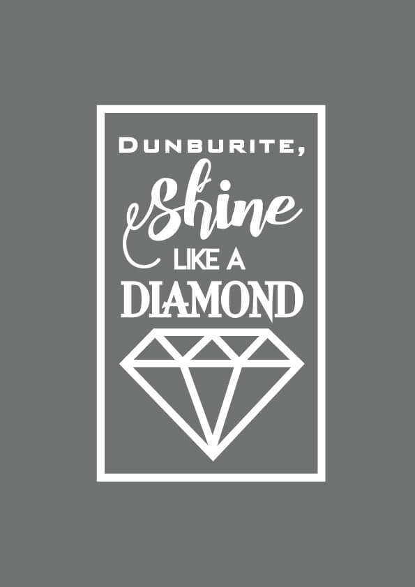Dunburite,Shine like a diamond!待ち受け