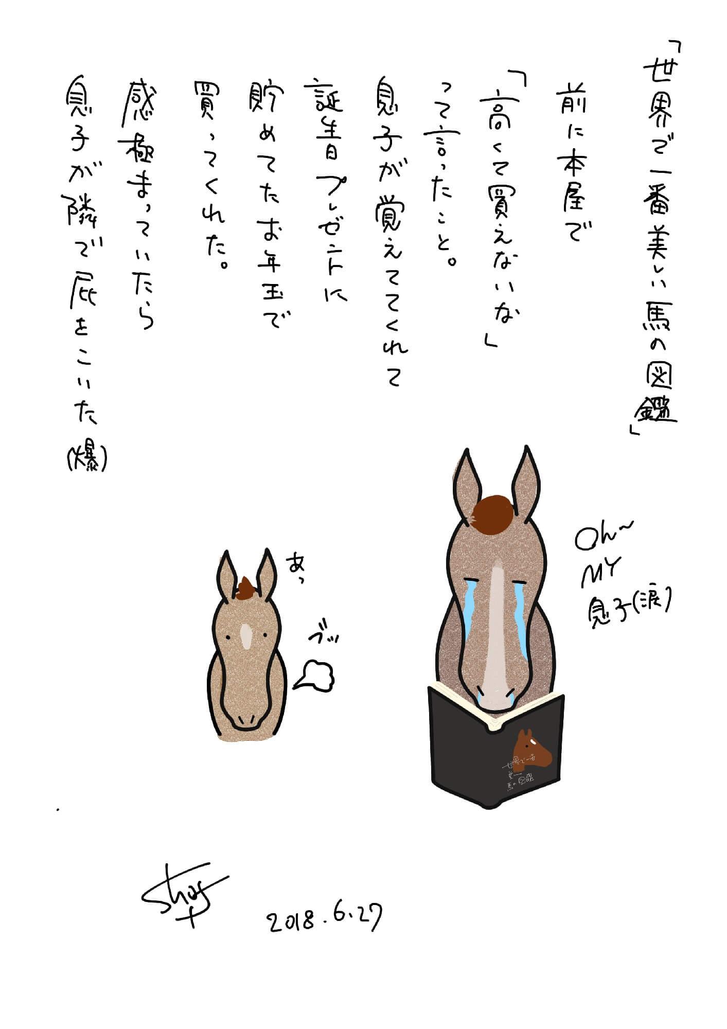 『世界で一番美しい馬の図鑑』