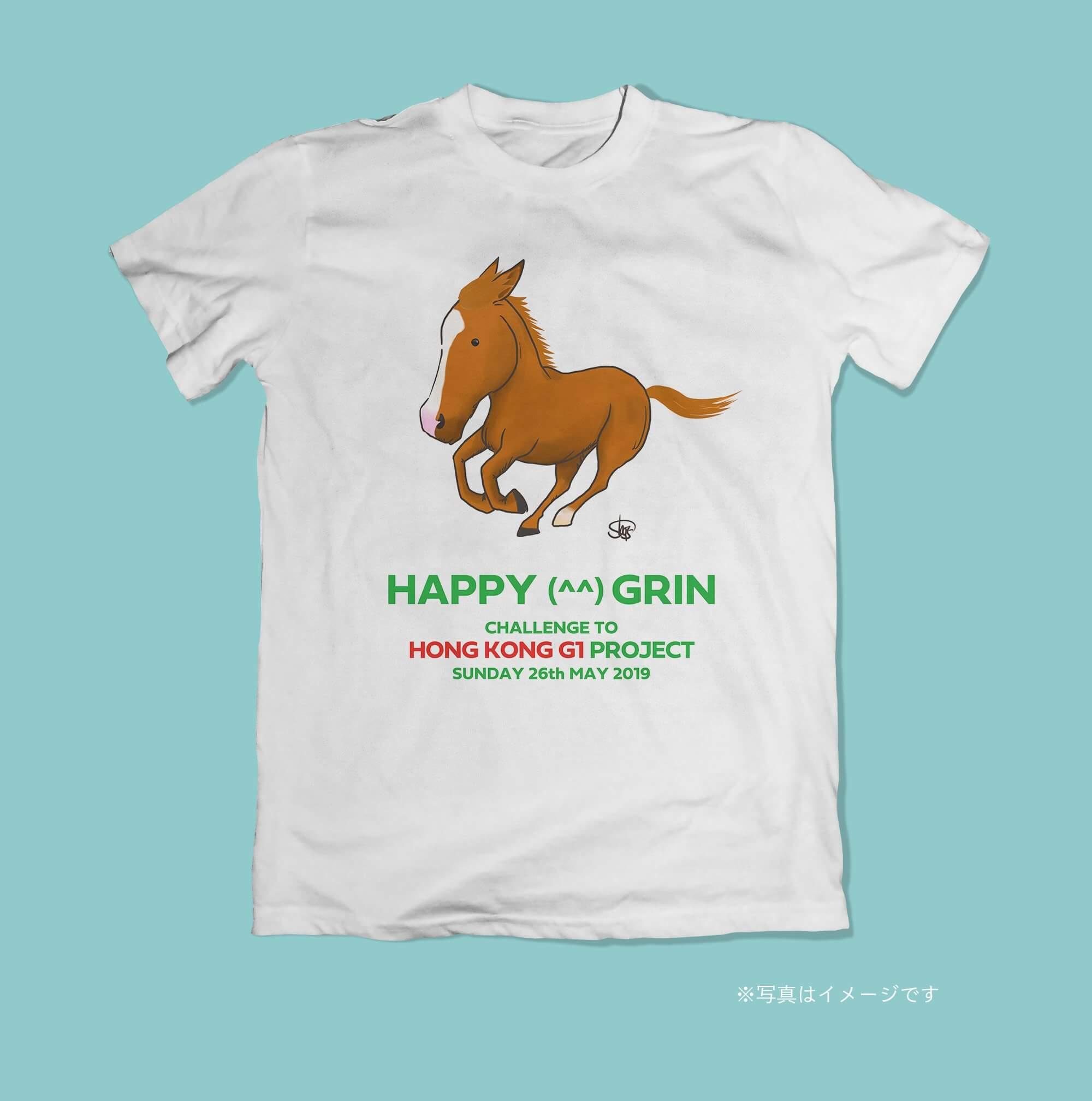 ハッピーグリンTシャツ