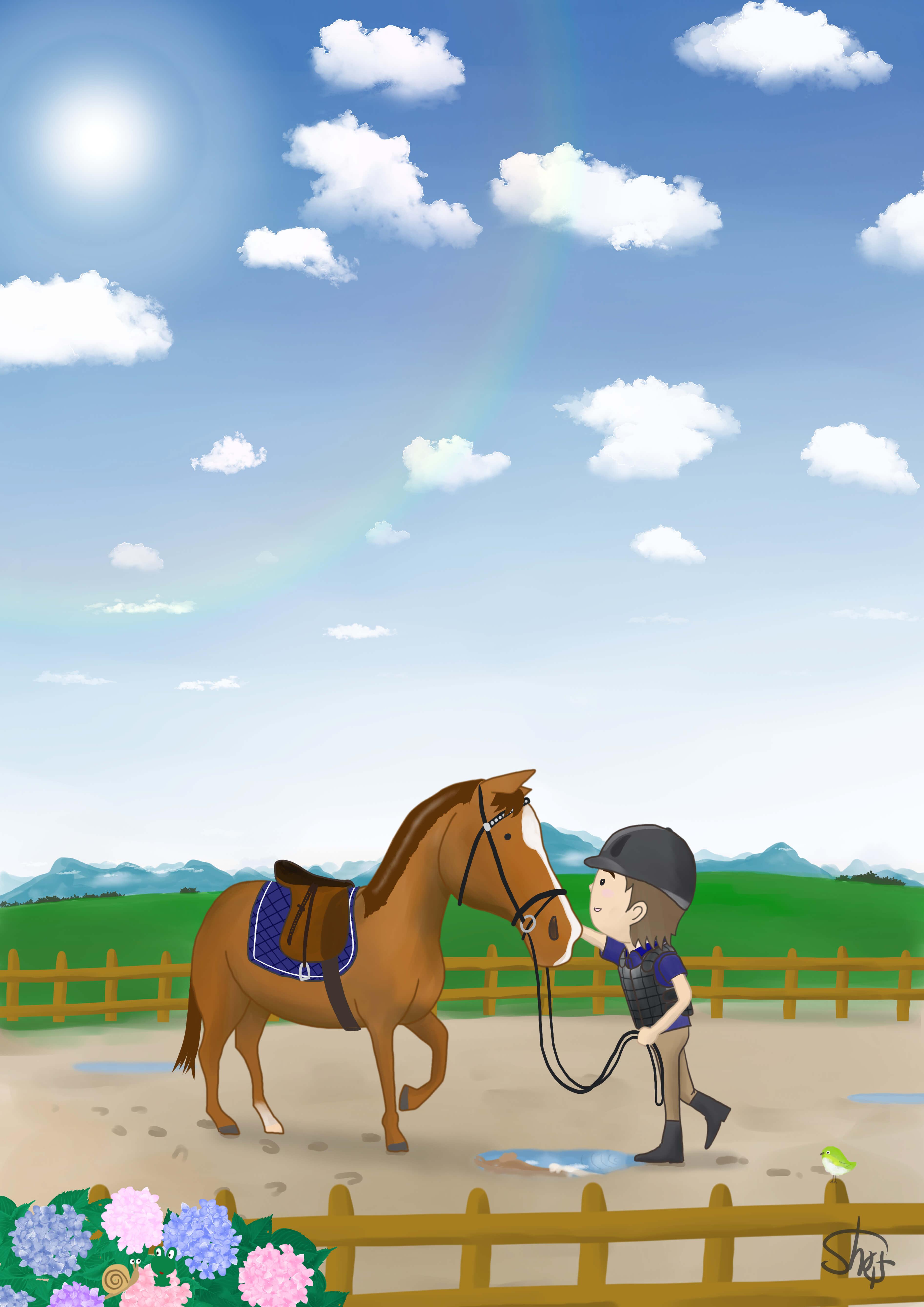 はじめての乗馬