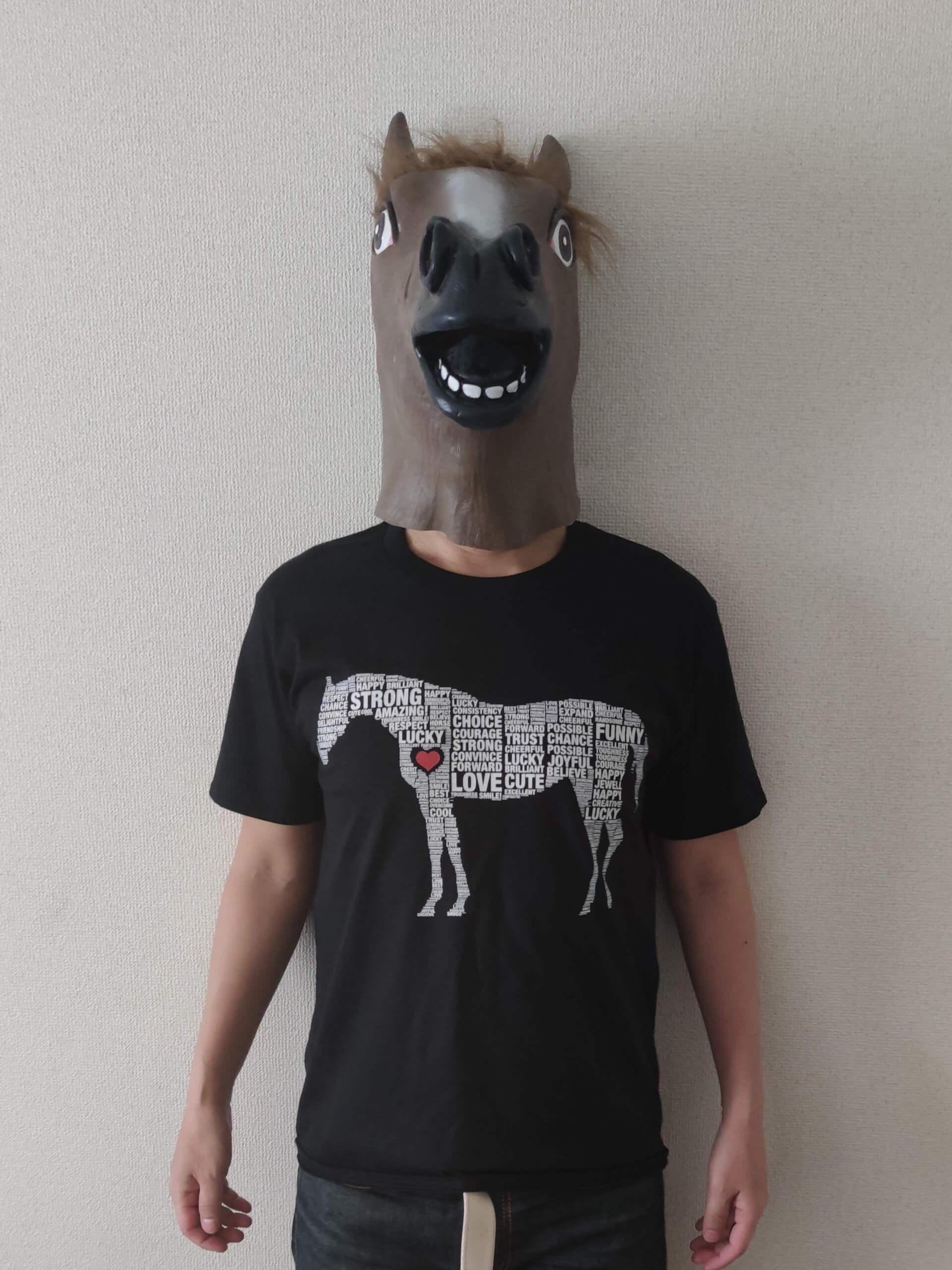 ウマTシャツ