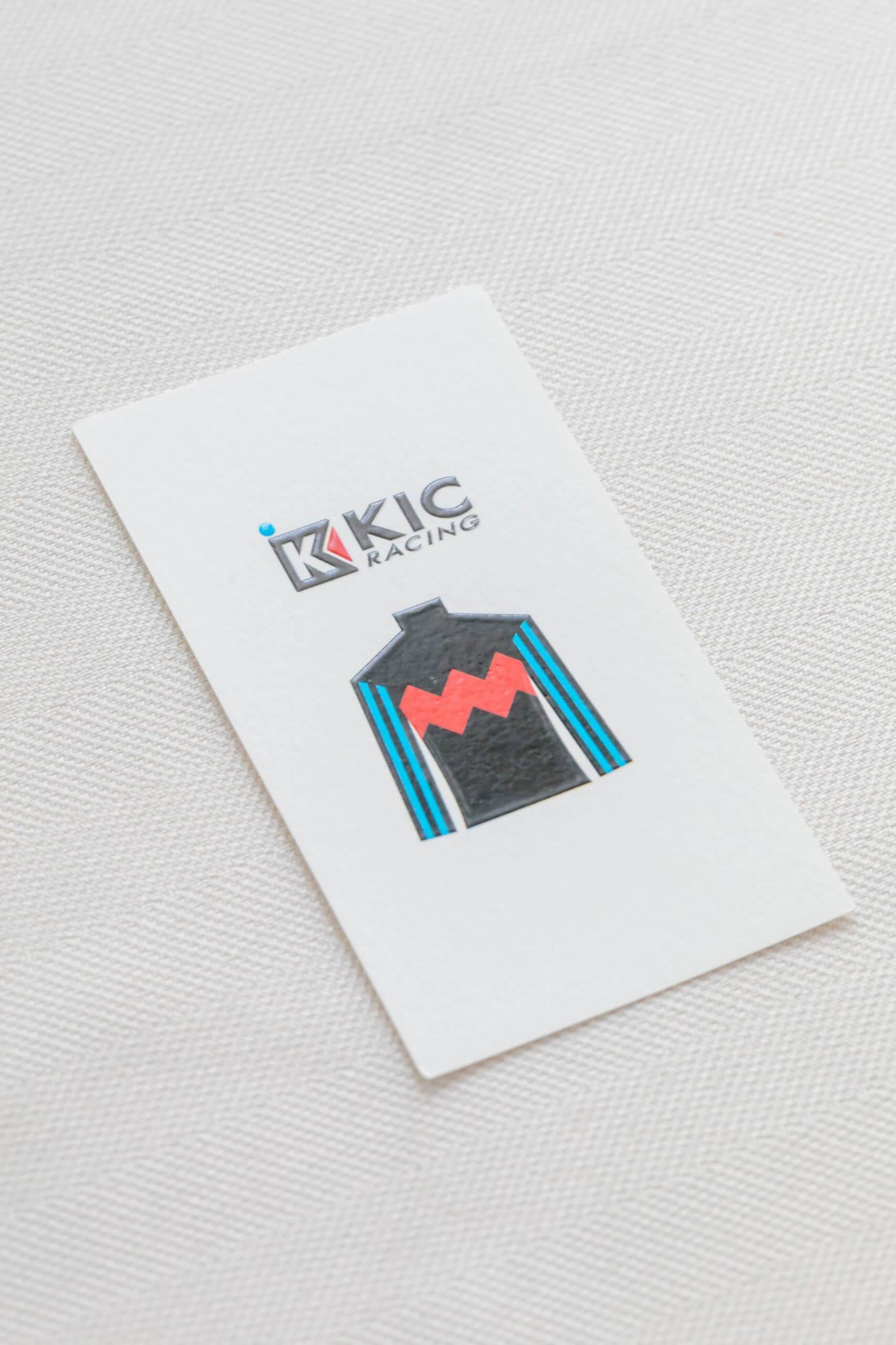 KIC Racing 名刺