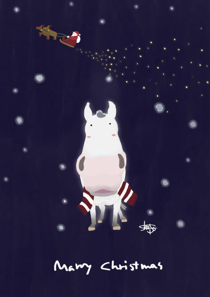 芦毛のクリスマス2021